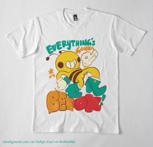 fashion feature bee ok shirt flat
